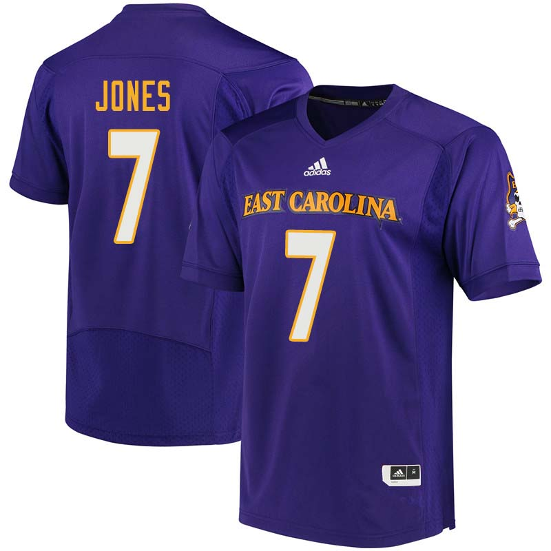 Men #7 Zay Jones East Carolina Pirates College Football Jerseys Sale-Purple